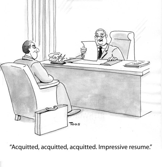 resume acquitted cartoon